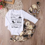 Cowboy 3pcs Clothing Set
