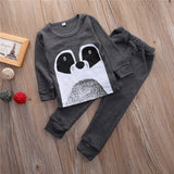 Bear Gray Clothing Set