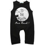 To The Moon Summer Rompers