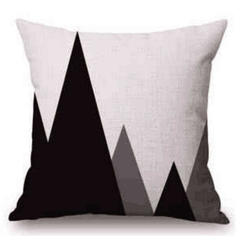 Triangles Pillow Cover