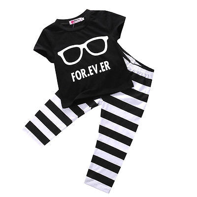 FOREVER Top + Pants 3pcs Set