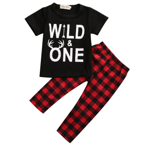 Wild One Shirt & Plaid Pants