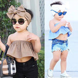 Trendy Crop Top + Headband