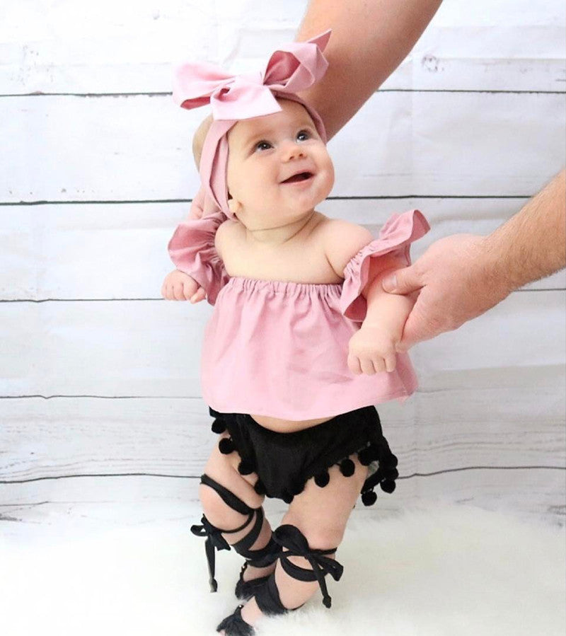 Baby Gladiator Sandals – Tully's Treasures