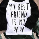 My Best Friend Is My Papa Clothing Set