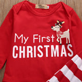 My First Christmas Reindeer Clothing Set