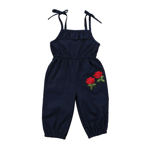 Rose Strap Jumpsuit