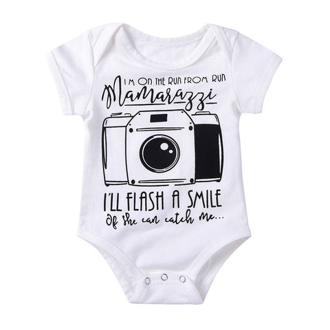 I'll Flash A Smile by Mamarazzi Bodysuit