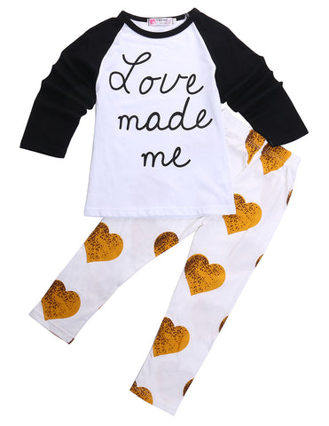 Love Made Me Clothing Set