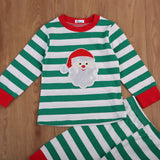 Striped Santa Top + Pants