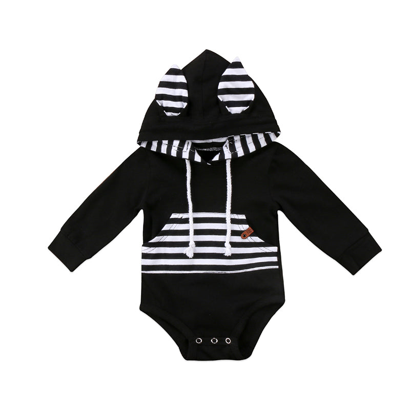 Bunny Ear Hooded Bodysuit