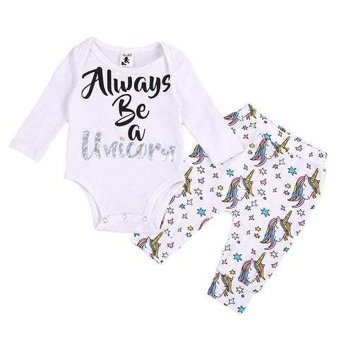 Always Unicorn Bodysuit + Pants