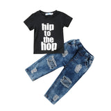 Hip To The Hop Top + Ripped Jeans