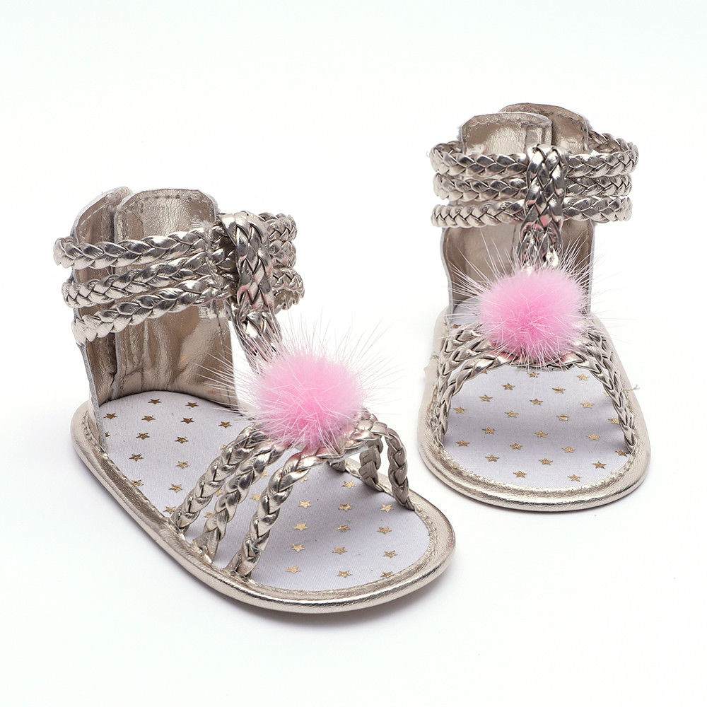 Girly Pom Sandals