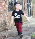 Boss Black Top + Pants