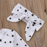 Star Sleeve Bodysuit + Headband