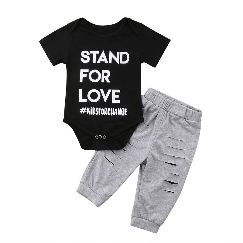 Stand For Love Bodysuit + Pants