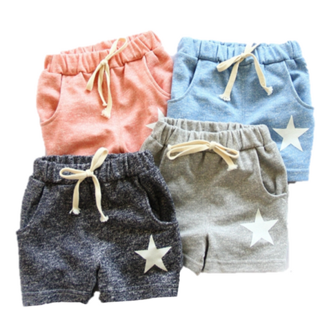 Girl Casual Star Shorts