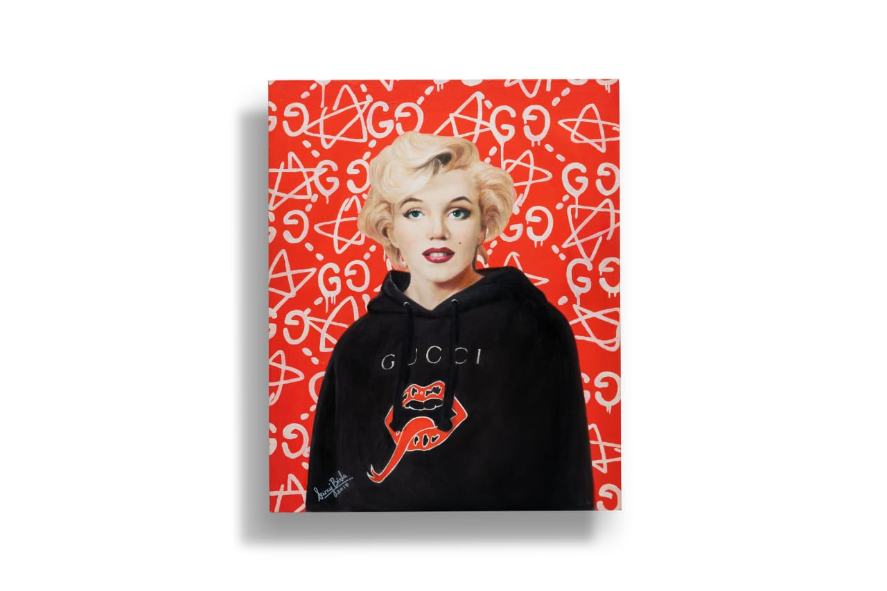 Gucci - Marilyn Monroe - Pop Art
