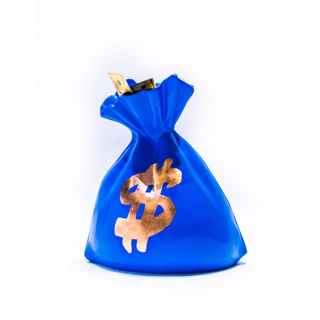 Money Bag Sculpture  Pop Art