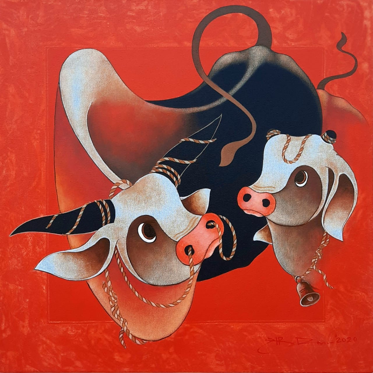 H.R Das - Loving Cows