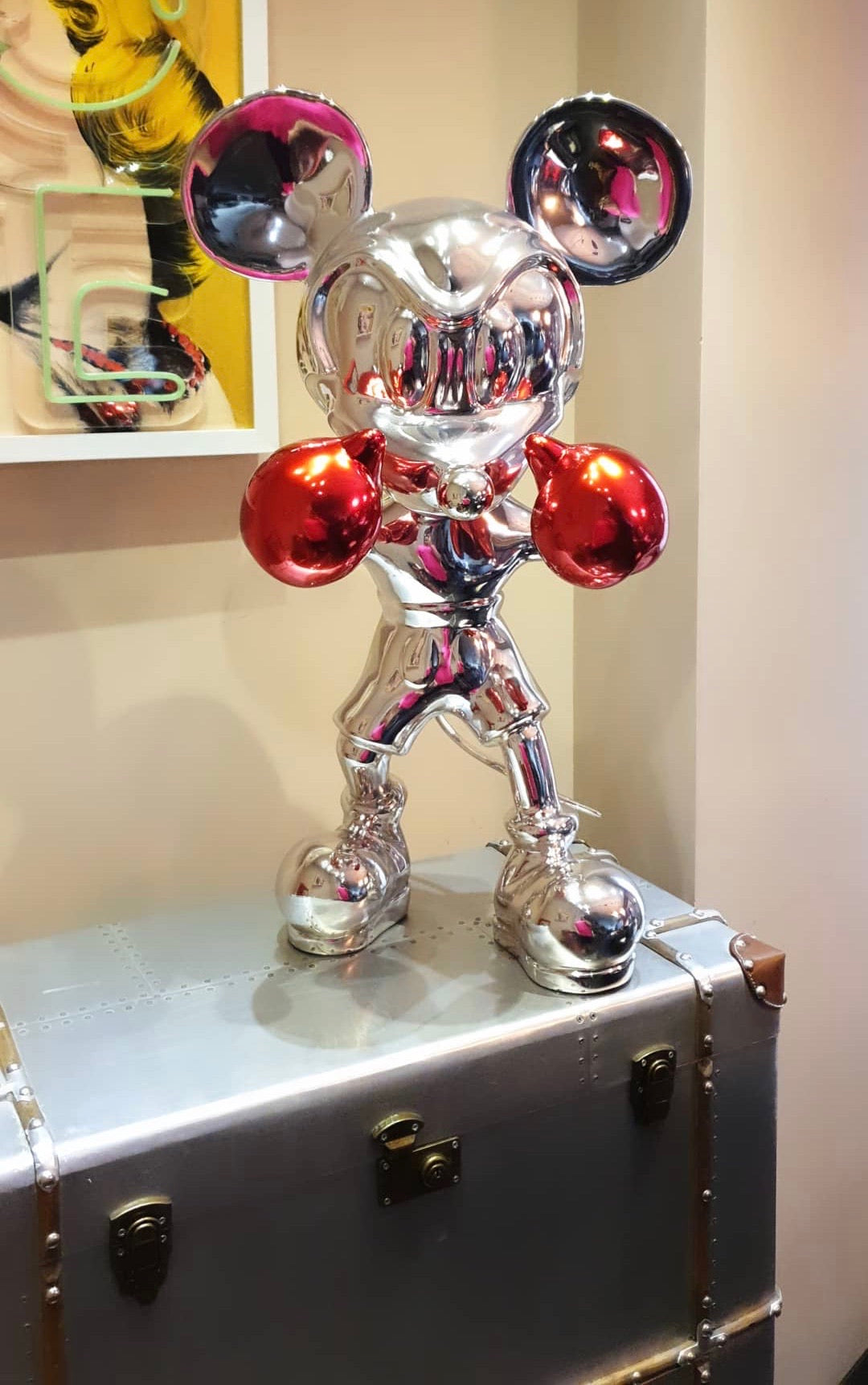 Mickey Sculpture