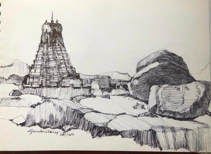 Hampi Series - Sketches
