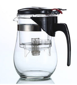 Heat Resistant Glass Tea Pot