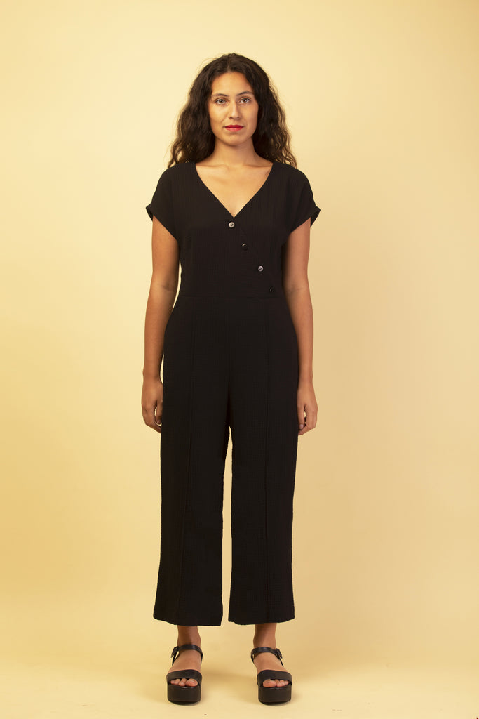MERCURY JUMPSUIT BLACK