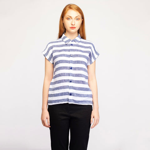 Navy Stripe Shirt