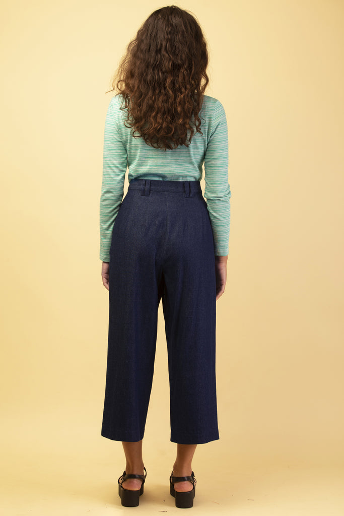 PRISM PANTS INDIGO DENIM