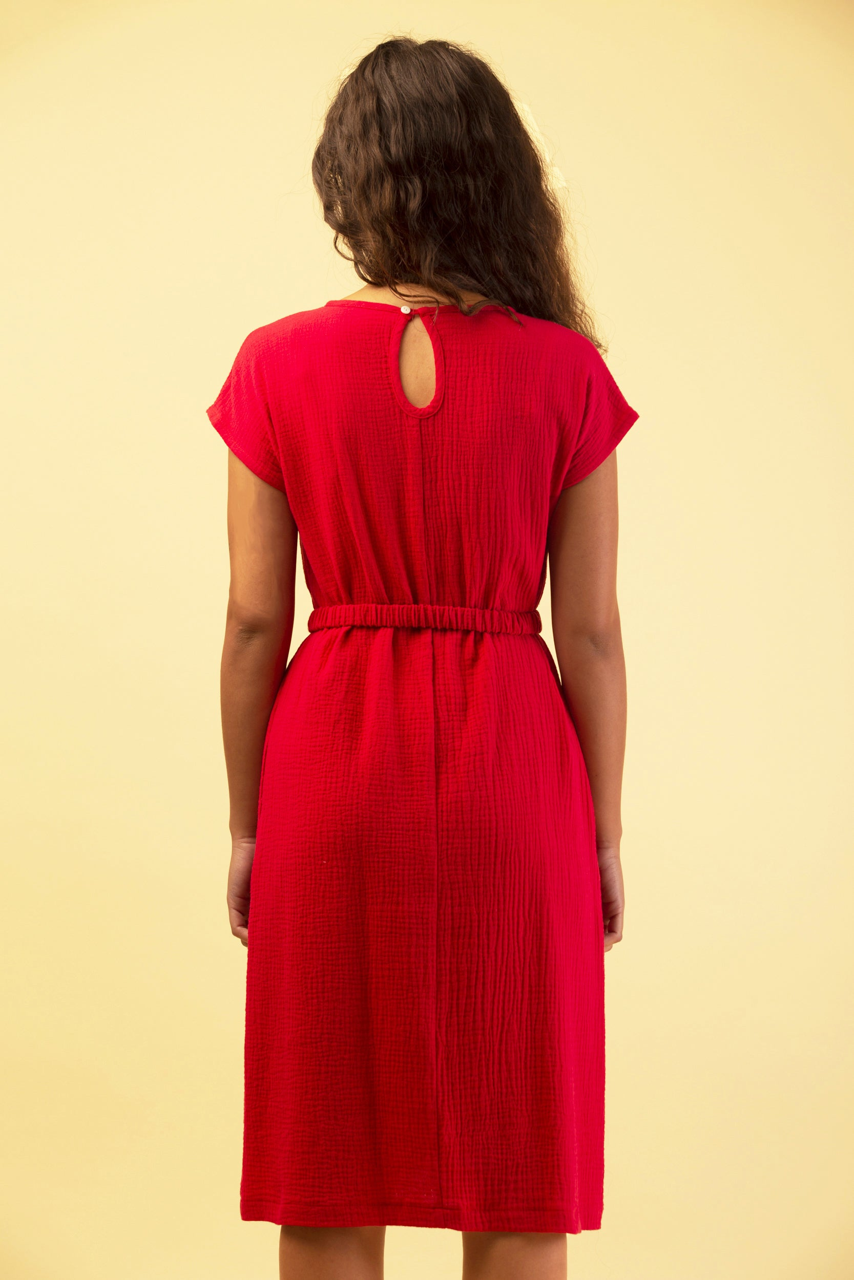 RAPPROCHEMENT DRESS RED