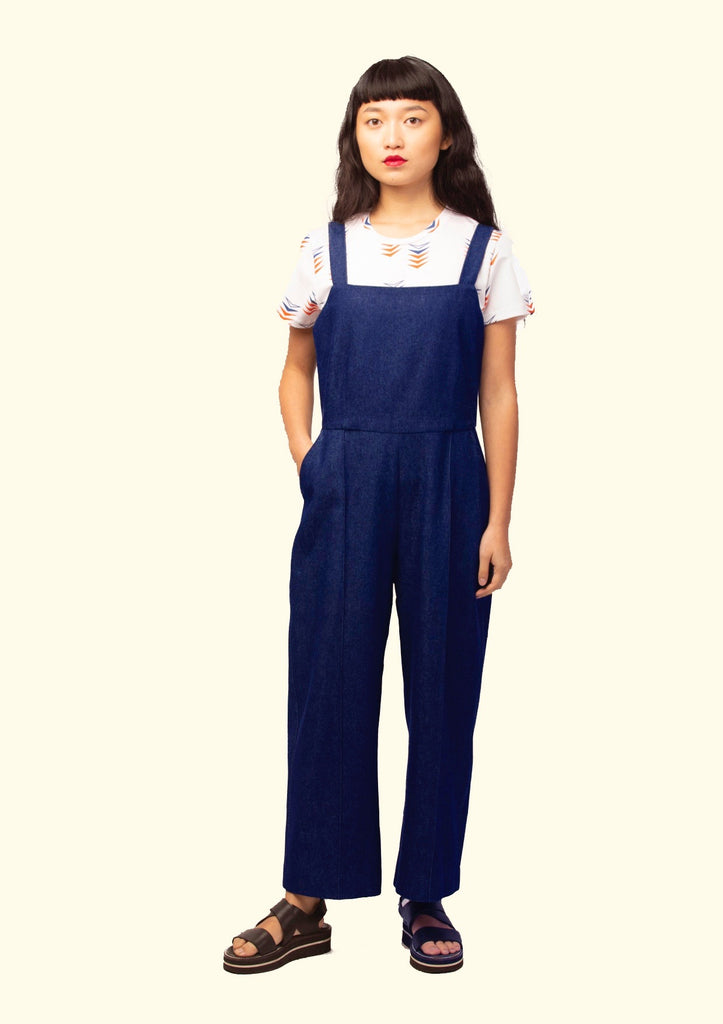 CONDUIT JUMPSUIT INDIGO DENIM