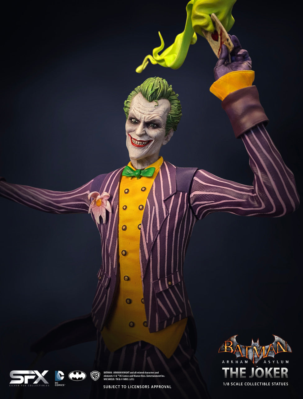 The Joker Arkham Asylum 1:8 Scale Statue