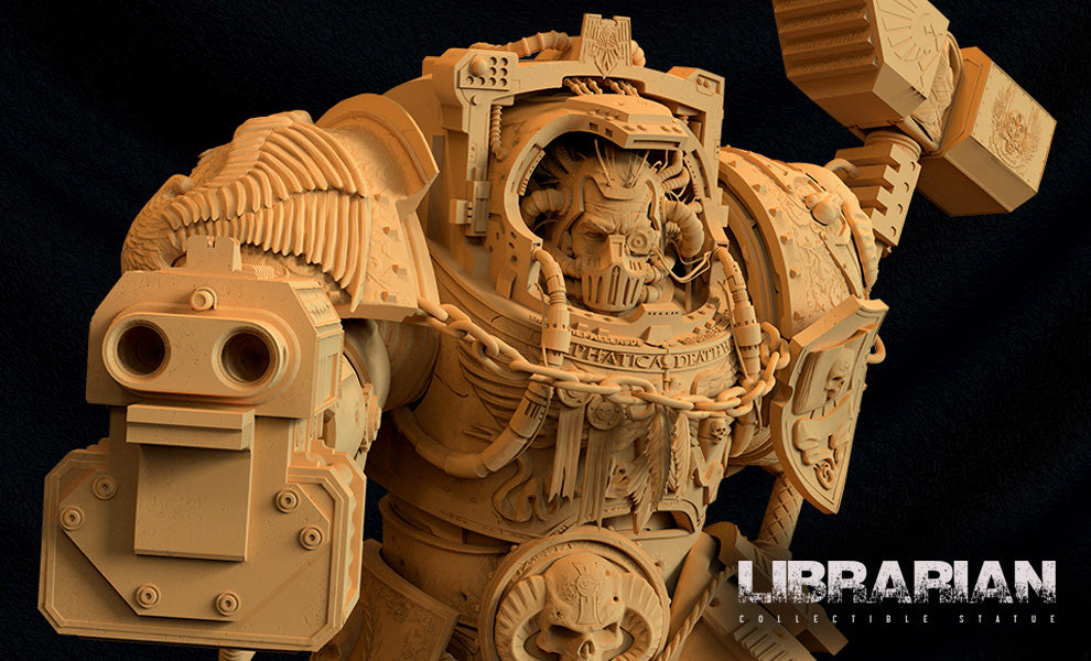 Deathwing Librarian Exclusive Statue