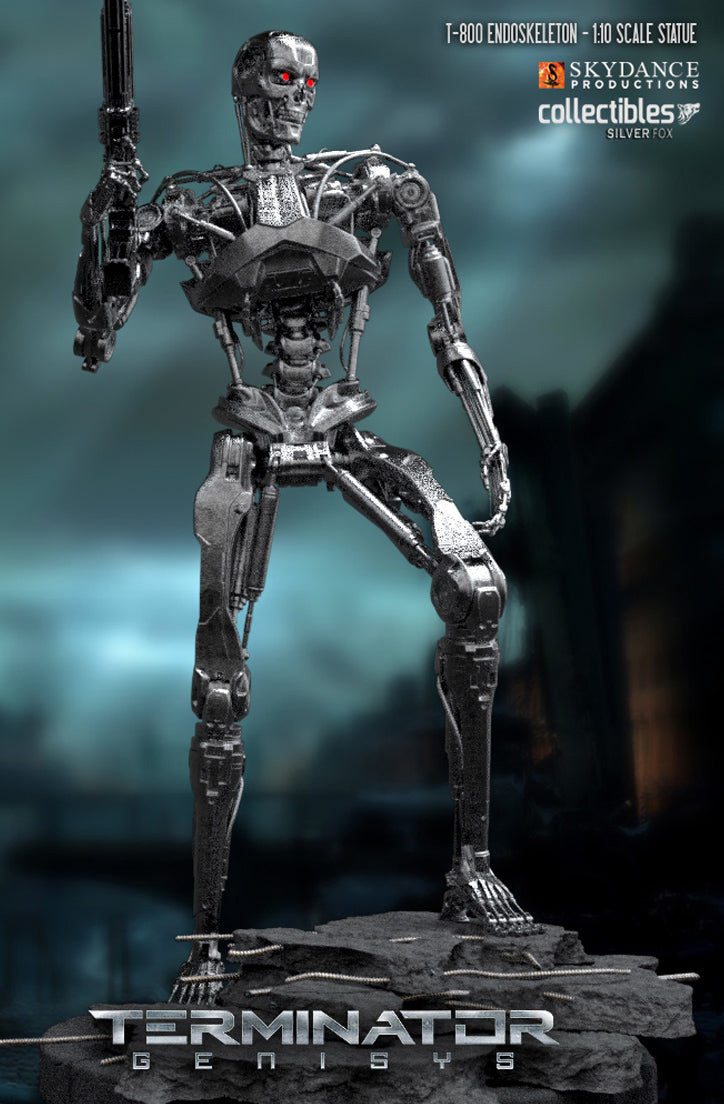 T-800 Endoskeleton Statue Coming Soon