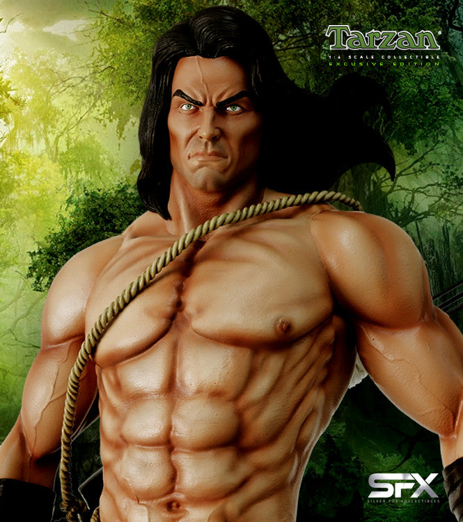 Tarzan Museum Pose Exclusive Statue