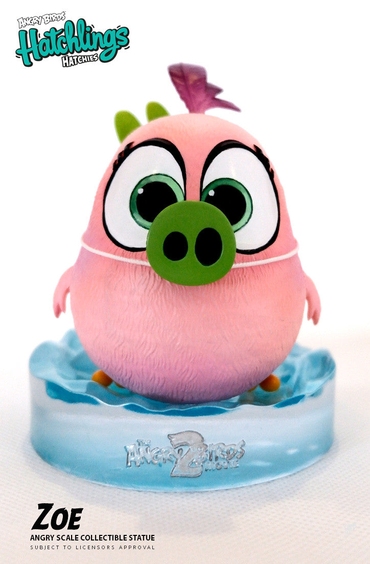 Angry Birds 2 Zoe Statue Silverfoxcollectibles