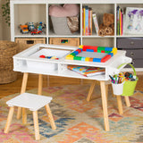 Kids/Toddler Multi Activity Table with 2 chairs