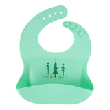 Silicone Baby Bibs | Unique Eco Designs | Easy to Clean | Teal Forrest