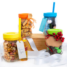 16oz Glass Mason Jar Drinking Tumblers + Food Storage