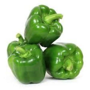 Green Capsicum (Bell Pepper) / Shimala Mirch