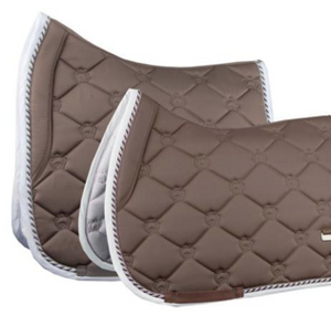 PSOS Jump Saddle Pad Monogram Walnut