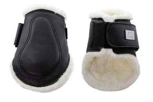 PSOS Brushing Boots Leather Fetlock