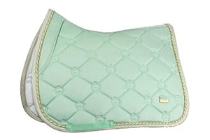 PSOS Jump Saddle Pad Monogram Mint Green
