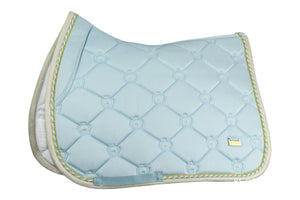 PSOS Jump Saddle Pad Monogram Sky Blue