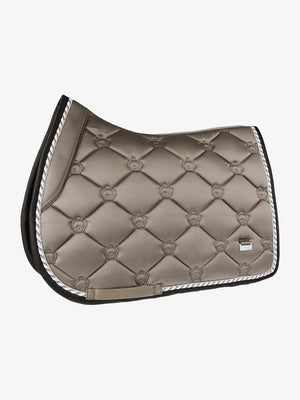 PSOS Jump Saddle Pad Monogram Ice Coffee