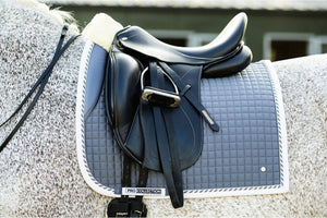 PSOS Dressage Saddle Pad, Grey PRO