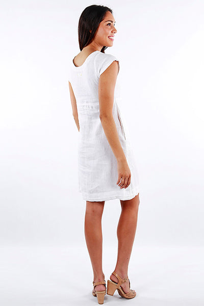 Dress Bhakti White - Maya Collection