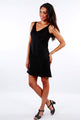 Dress Sunyata Black Linen